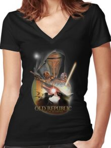 The Old Republic - Rise of an Empire Women's Fitted V-Neck T-Shirt