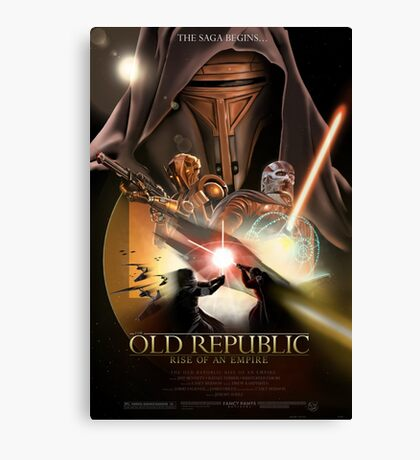 The Old Republic - Rise of an Empire Canvas Print