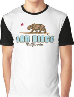 San Diego - California. Graphic T-Shirt