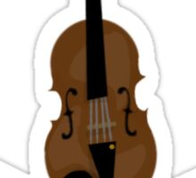 Violin and Cross Bows Sticker