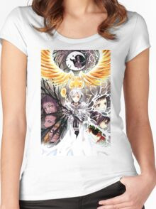 D Gray Man  Women's Fitted Scoop T-Shirt
