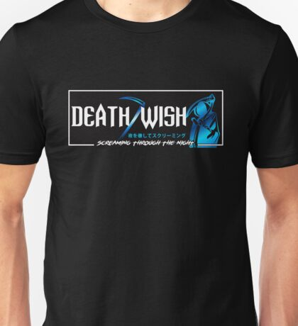 Death Wish JDM Slap Blue Unisex T-Shirt