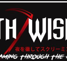 Death Wish JDM Slap Red Sticker