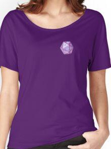 purple d&d d20 / violet die / dice pattern Women's Relaxed Fit T-Shirt