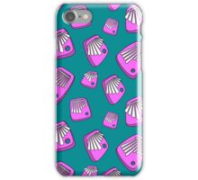 Neon Mbira Shower iPhone Case/Skin
