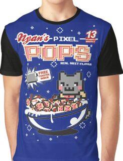 Nyans Pixel Pops Graphic T-Shirt