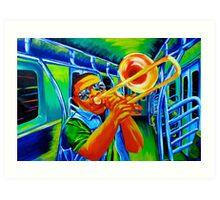 Subway Solo Art Print