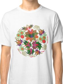 Red Summer Pattern Classic T-Shirt
