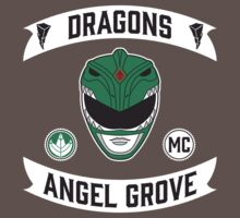 Angel Grove Motorcycle Club (Dragons) One Piece - Short Sleeve