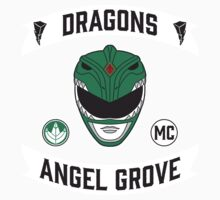 Angel Grove Motorcycle Club (Dragons) One Piece - Long Sleeve
