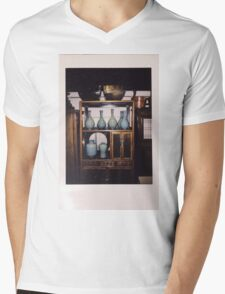 Celadon  Mens V-Neck T-Shirt