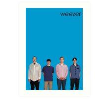Weezer - Blue Album Art Print