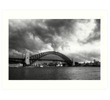 Creeping Storm - Sydney Australia Art Print