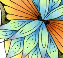 Lotus Burst Sticker