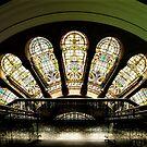 Leadlight sunshine - Sydney Australia by Norman Repacholi