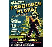 Vintage Sci-fi Movie Forbidden Planet, Robot Photographic Print