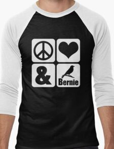 Peace Love Bernie Bird T-Shirt