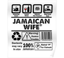 Product of Jamaica - Jamaican Wife Poster