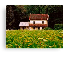 Abandoned Farm Canvas Print