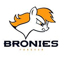 Bronies Denver Broncos Photographic Print