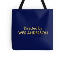 homage to Wes Tote Bag