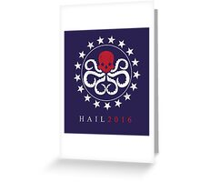 Hydra 16` Greeting Card