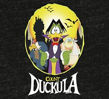 Count Duckula - Darkwing Duck Tri-blend T-Shirt
