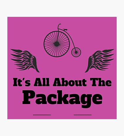 Its All About The Package Photographic Print