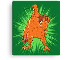 Screencheat Chicken Canvas Print