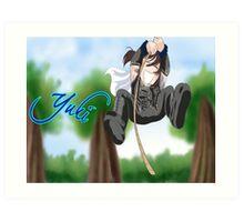 Chibi Yuki Art Print