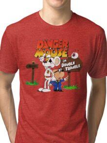 Danger Mouse Trouble Tri-blend T-Shirt