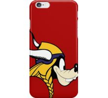 Goofy Minnesota Vikings iPhone Case/Skin