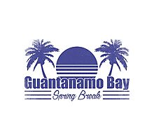Guantanamo Break Spring Break Photographic Print