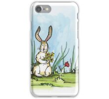 Happy Bunny Day iPhone Case/Skin