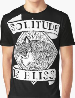 Solitude is Bliss  Graphic T-Shirt