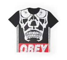 Skull Obey Graphic T-Shirt