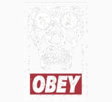 Skull Obey One Piece - Short Sleeve