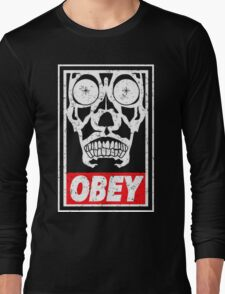 Skull Obey Long Sleeve T-Shirt