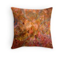 Abstract 1A Throw Pillow