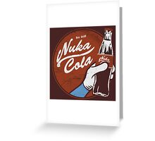 Ice Cold Nuka Cola Greeting Card