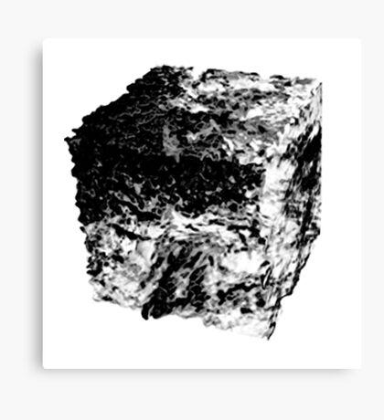 Land Cube Canvas Print