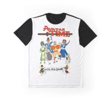 Avatar Time: White Background Graphic T-Shirt