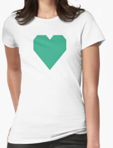 Jungle Green  Womens Fitted T-Shirt