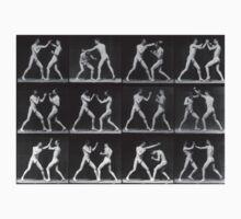 Eadweard Muybridge - Fight Boxer Motion Study Baby Tee
