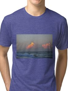 Beach clouds  Tri-blend T-Shirt