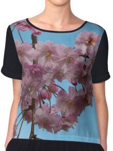 Silicon Valley Cherry Blossoms Chiffon Top