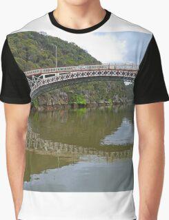 Kings Bridge and Cataract Gorge, Launceston Tas, Australia Graphic T-Shirt