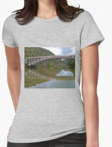 Kings Bridge and Cataract Gorge, Launceston Tas, Australia Womens Fitted T-Shirt