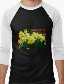 Silicon Valley Daffodils Men's Baseball ¾ T-Shirt