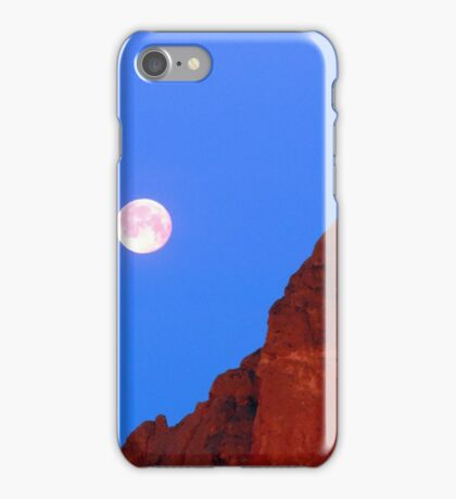 Smith Rock Moonset iPhone Case/Skin